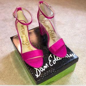 Sam Edelman Deep Pink heels